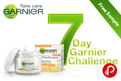 #7daygarnierchallenge - Get Free Sample of The Garnier