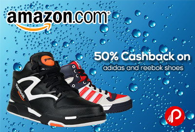 50% off on Reebok and Adidas Footwear (Amazon)