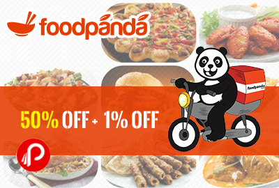 50% + 1% off on FoodPanda for Online Payment