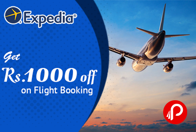 Get Rs. 1000 off on Flight Booking - Expedia