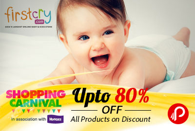 Baby & Kids Products Upto 80% Off + 10% cashback – FirstCry