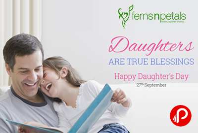 Get Special Gift and Flower for Daughters on Daughter's Day - FernsNPetals
