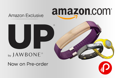 Get UP by Jawbone Wristband on Pre-Order - Amazon