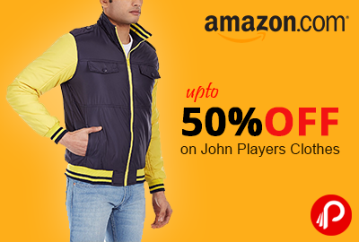 Get 50% or more Discount on John Players Clothes - Amazon