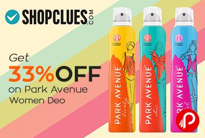 Get 33% off on Park Avenue Women Deo - Shopclues