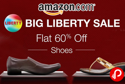 Get Flat 60% off on Liberty Shoes - Amazon