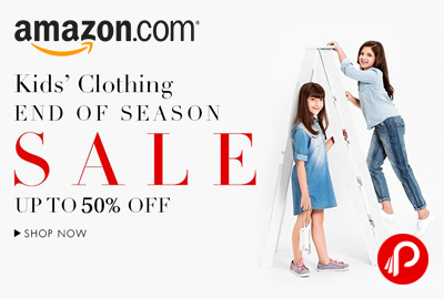 Get 50% Discount on Kids Clothes - Amazon