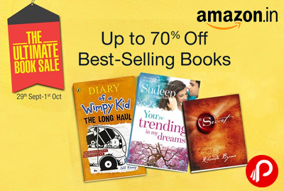 Get UPTO 50% off on Best Selling Books - Amazon