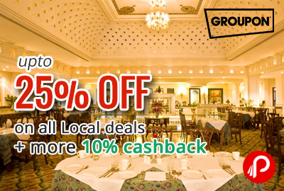 Get Extra 30% off on all Local deals - Groupon (NearBy)