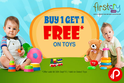 Get 1 Free on Buy 1 on Toys - Firstcry
