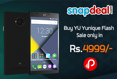 Buy YU Yunique Flash Sale only in Rs.4999 - Snapdeal