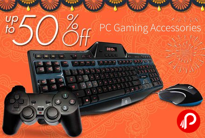 Get UPTO 50 off PC Gaming Accessories - Amazon