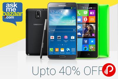 Get UPTO 40% off on Mobile Phones - AskMeBazaar