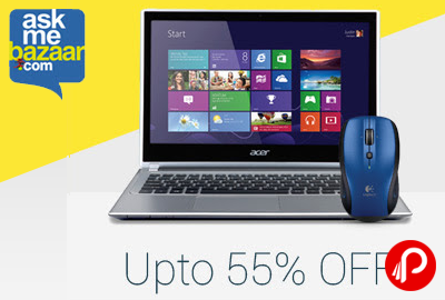 Get UPTO 55% off on Computers & Peripherals - AskMeBazaar