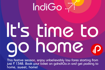 Low Fares Starting From Just Rs. 1348 - GoIndiGo.in