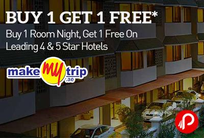Buy 1 Get 1 Free on Sterling Hotels - MakeMyTrip