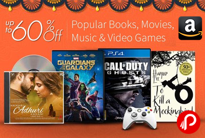 60 Off Or More On Popular Books Movies Music And Video Games