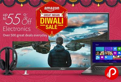 Get UPTO 55% off Electronics - Amazon