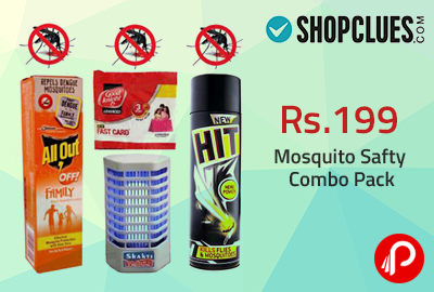 Get 78% OFF Mosquito Safty Combo Pack - ShopClues