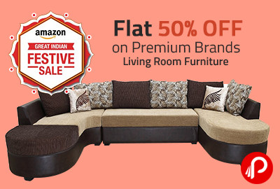 Living Room Furniture Flat 50 Off On Premium Brands Amazon