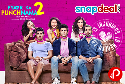 Get Exclusive offers on Pyaar Ka Punchnama 2 Movie - Snapdeal