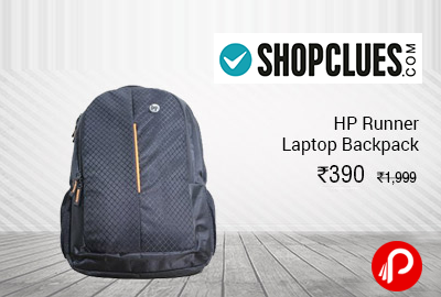 HP Runner Laptop Backpack in Rs.410 Only - Shopclues