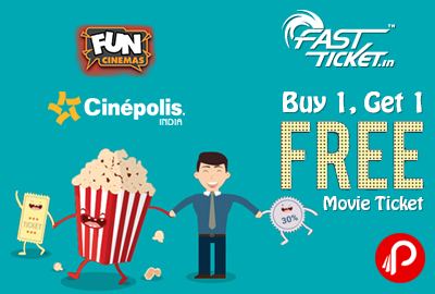 Get 1 Ticket Free on Buy one ticket - Fastticket