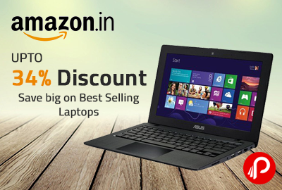 Save big on Best Selling Laptops up to 34% Discount - Amazon