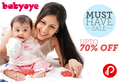 UPTO 70% Off on Kids Apparel, Toys & More | Must Have Sale - Babyoye