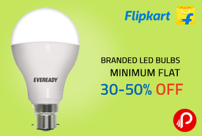 Branded Led Bulbs | Minimum Flat 30-50% OFF - Flipkart
