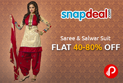 f8d0a256254 Snapdeal offers Designer Saree - Best Online Shopping deals