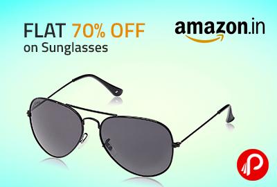 Flat 70% OFF on Sunglasses - Amazon