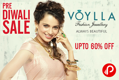 Get Upto 60% Off on Jewellery | Pre Diwali Sale - Voylla