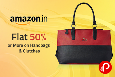 Flat 50 Or More On Handbags Clutches