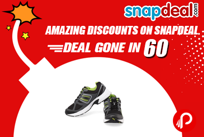 Amazing Discounts on Snapdeal @ Deals Gone in 60 - Snapdeal