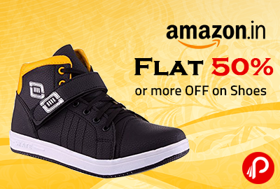 Flat 50% or more OFF on Shoes - Amazon
