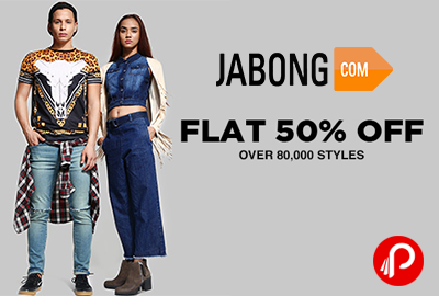 Flat 50% & More Discount on Lifestyle Products - Jabong