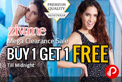 Mega Clearance Sale | Buy 1 Get 1 Till Midnight - Zivame