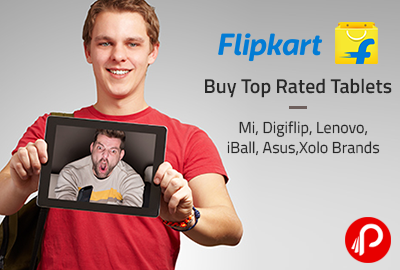 Buy Top Rated Tablets Mi, Digiflip, Lenovo, iBall, Asus, Xolo Brands - Flipkart