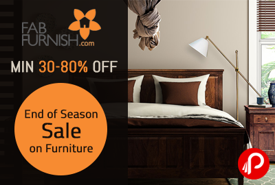 End of Season Sale on Furniture | Min 30-80% OFF - FabFurnish