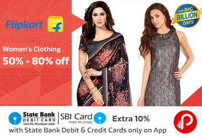 Get Branded Sarees Only in Rs.399 Only - Flipkart