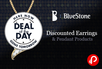 Discounted Earrings & Pendant Products | Deal Of The Day Deals - Bluestone