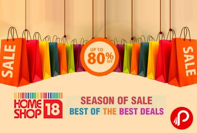 Best OF THE BEST DEALS | UPTO 80% OFF - HomeShop18