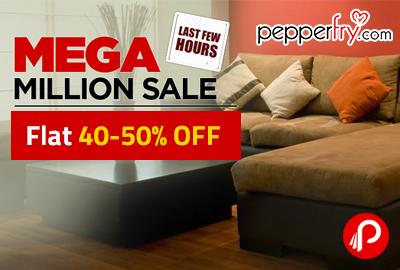 Mega Million Sale On Furniture | Flat 40 50% OFF   Pepperfry