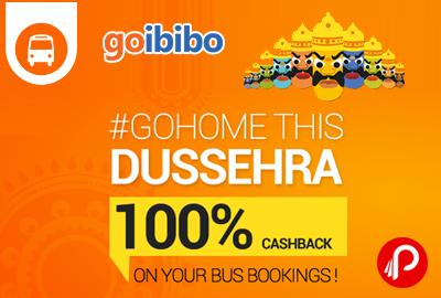 Get 100% GoCashback on Bus Bookings - Goibibo