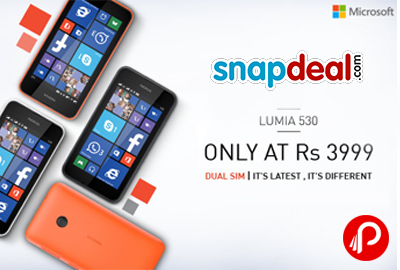 LUMIA 530 ONLY AT RS. 3999 - Snapdeal