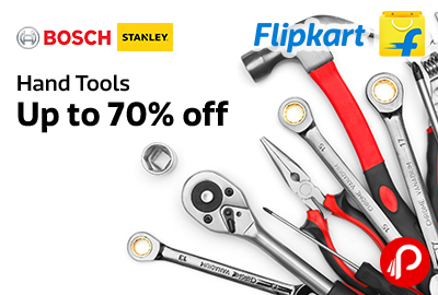 Get UPTO 70% off on Hand Tools | BOSCH | STANLEY - Flipkart