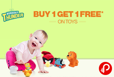 Buy 1 Get 1 Free on Toys - Firstcry