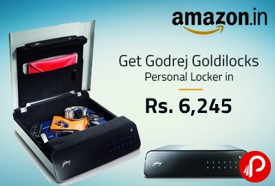 Get Godrej Goldilocks Personal Locker in Rs. 6,245 - Amazon