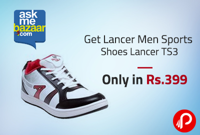 Get Lancer Men Sports Shoes Lancer TS3 Only in Rs.399 - AskMeBazaar